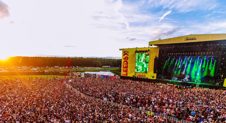 Win a pair of weekend camping tickets to Leeds Festival supporting image