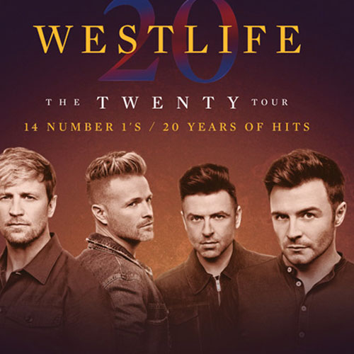 Win tickets to see Westlife at FlyDSA Arena thumbnail