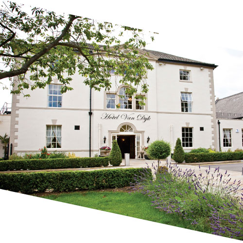 Win an overnight stay with breakfast and dinner at the 4* Hotel Van Dyk thumbnail