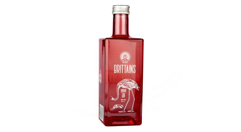 Win a bottle of Brittains Rhubarb Gin  supporting image