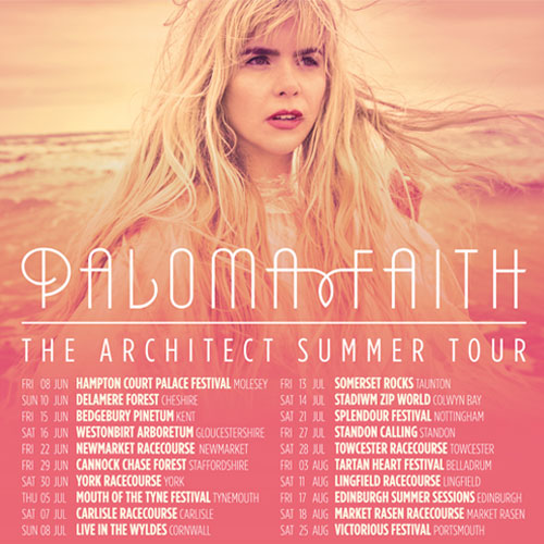 Win two tickets to see Paloma Faith at Market Rasen Racecourse thumbnail