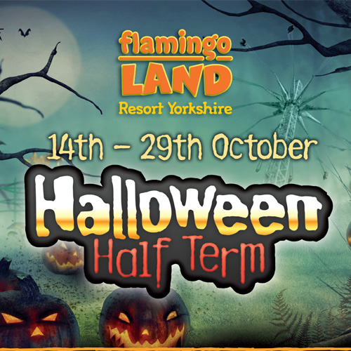 Win a family ticket to Halloween at Flamingo Land  thumbnail