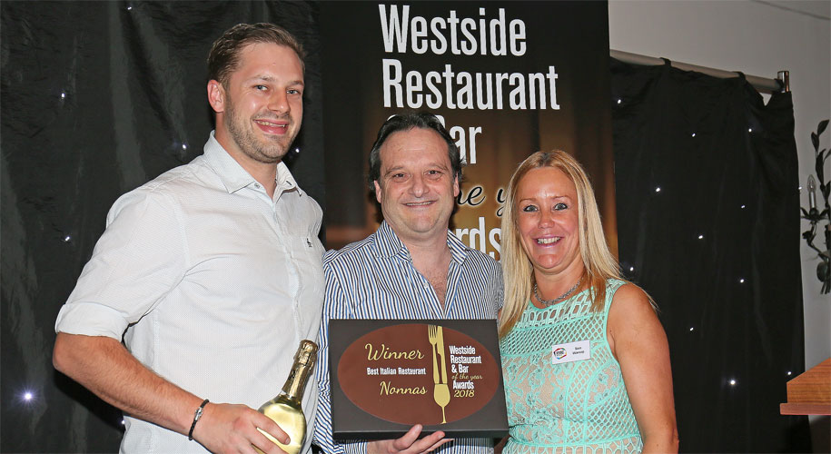 Westside Restaurant and Bar Awawrds 2018: Nonna