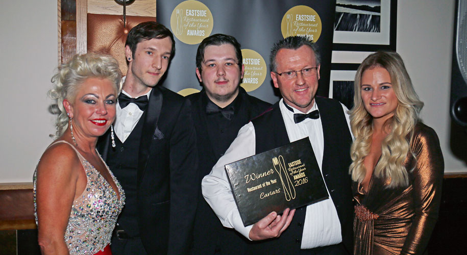 NEW VENUE FOR EASTSIDE RESTAURANT AWARDS supporting image