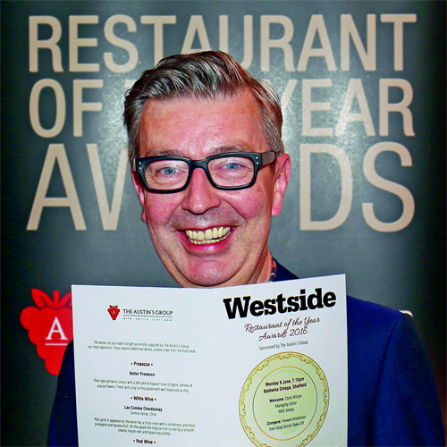 Another glittering Westside Restaurant Awards evening thumbnail