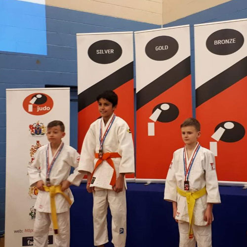 Gold medal for Bakewell judo player at regional championships thumbnail