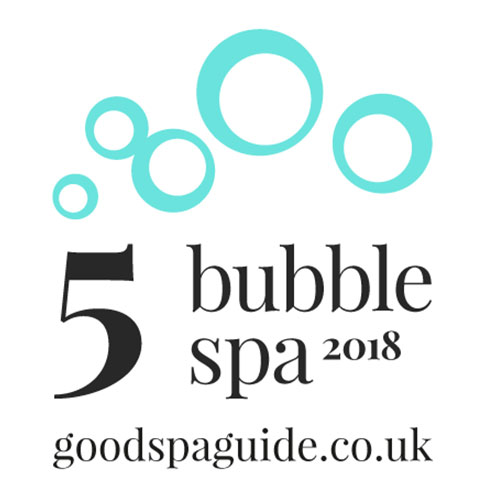 The garden secret spa has been awarded 5 bubbles  the first in derbyshire thumbnail