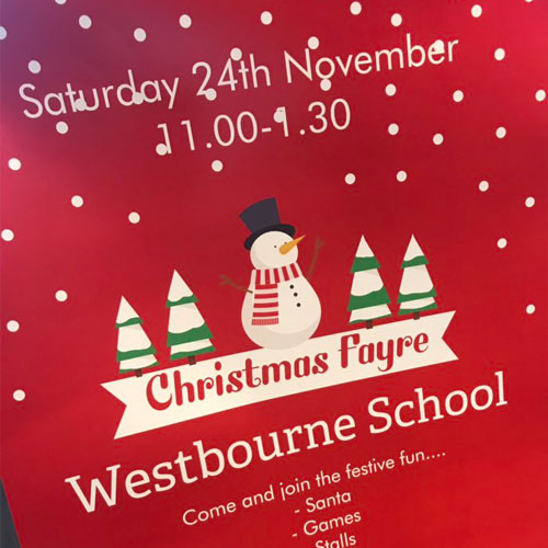Sharing thumbnail for Westbourne Christmas Fayre first Sheffield stop for Santa