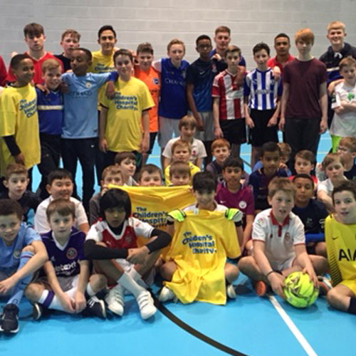 Birkdale pupils play out 24 hour football match thumbnail