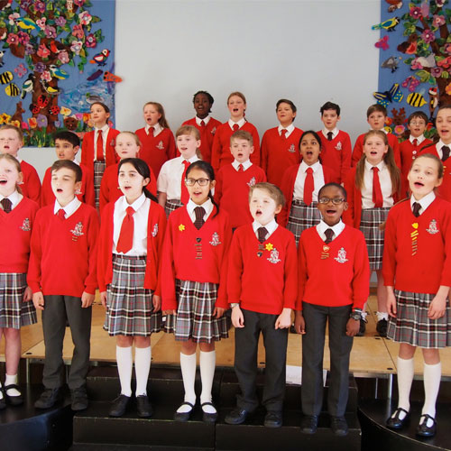 Froebelian School Choir to join Aled Jones on stage Thumbnail