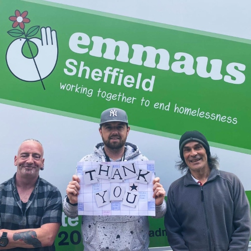 Yorkshire Building Society offers vital funding to Emmaus Sheffield thumbnail
