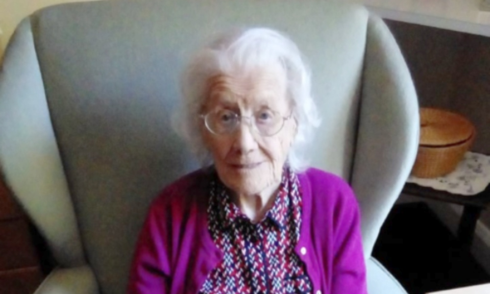 A quiet 103rd birthday celebration for Nellie supporting image