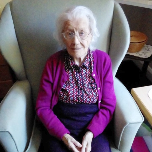 A quiet 103rd birthday celebration for Nellie thumbnail