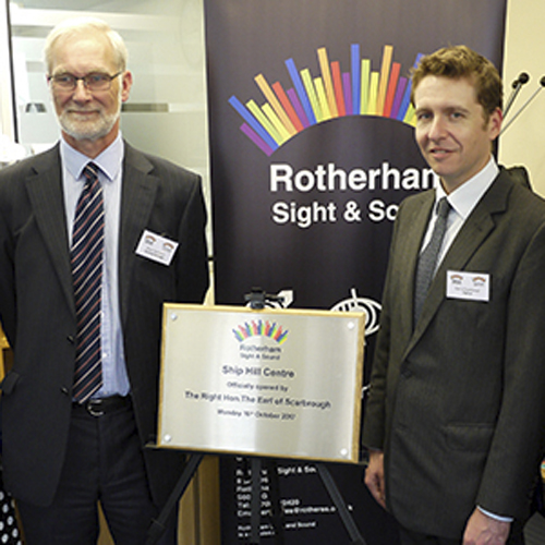 New sensory service for Rotherham's blind and deaf communities thumbnail