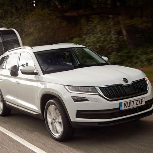 ŠKODA's Kodiaq named tow car of the year thumbnail