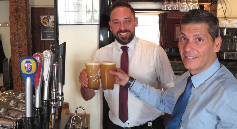 Paulo takes over at the Carpenters Arms supporting image