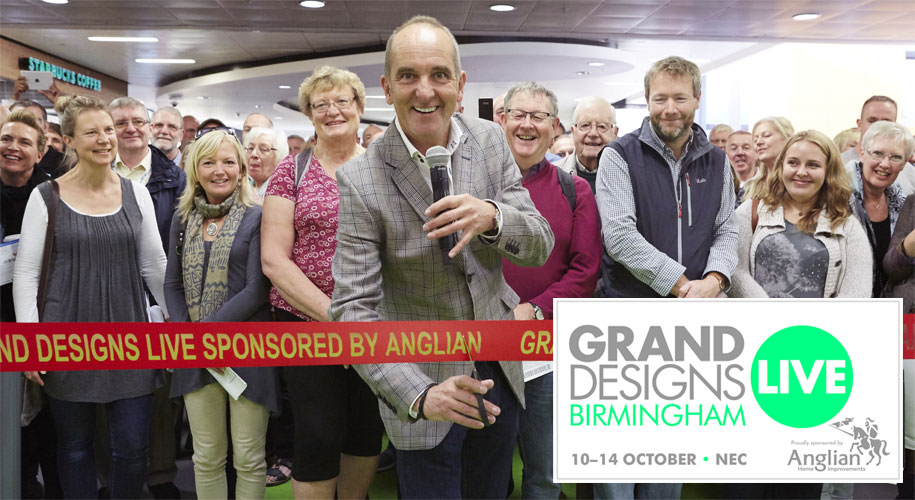 We've got 500 pairs of tickets to Grand Designs Live to give away supporting image