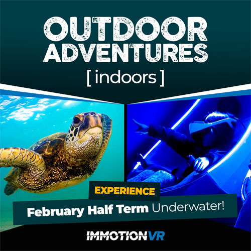 Outdoor Adventures [Indoors] this February half-term at Xscape, Yorkshire thumbnail