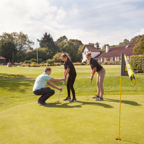 Sharing thumbnail for Get into golf with Harrogate Golf Club
