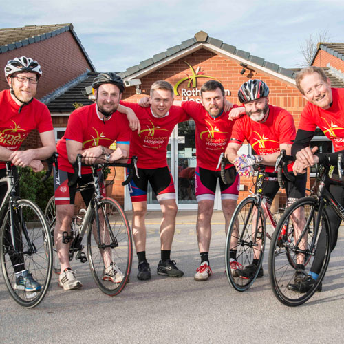 Rotherham Hospice supporters gearing up for cycle ride of their lives thumbnail