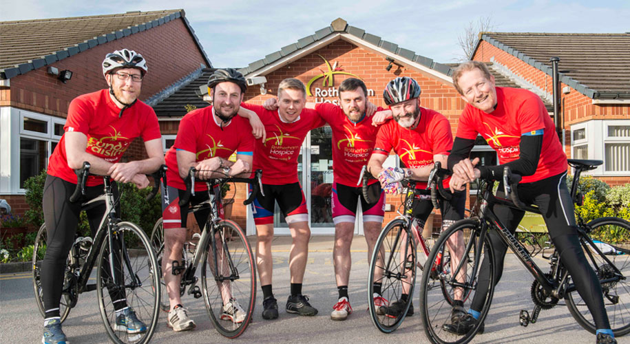 Rotherham Hospice supporters gearing up for cycle ride of their lives supporting image