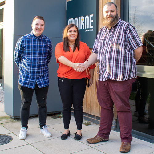 Sharing thumbnail for Moirae Appoint New Digital Marketing Executive