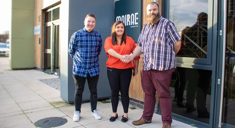 Moirae Appoint New Digital Marketing Executive supporting image