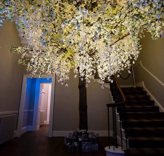 Giant Blossom Tree installed inside Bawtry Hall thumbnail
