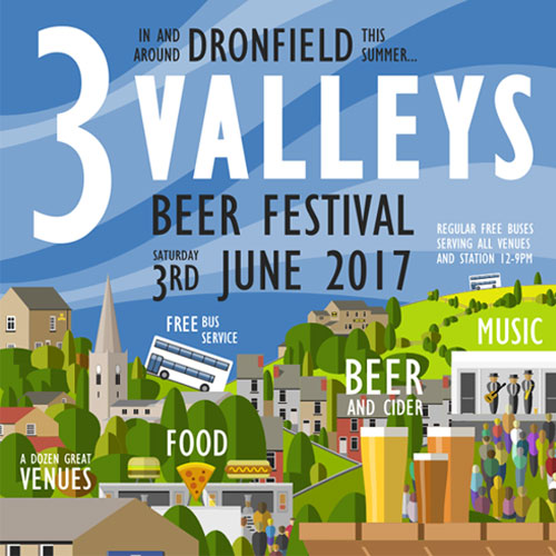 Preview: Dronfield 3 Valleys Beer Festival thumbnail