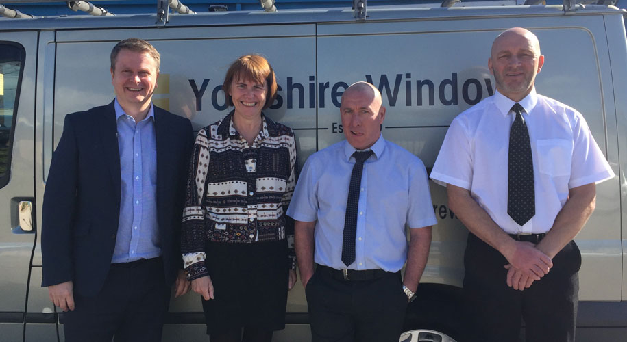 Three additions to the new Yorkshire Windows team supporting image