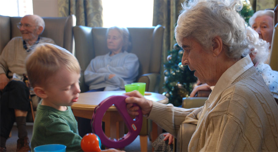 Elderly feel the benefit as youngsters visit Callywhite Care Home supporting image