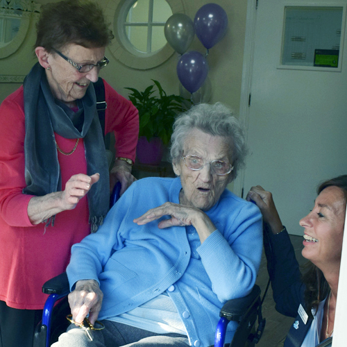 Edith, 102, opens Sheffcare's new care home thumbnail