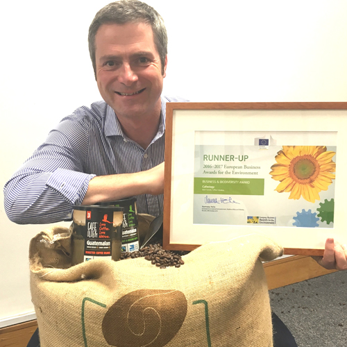Sharing thumbnail for Sheffield-based Cafeology recognised with European award