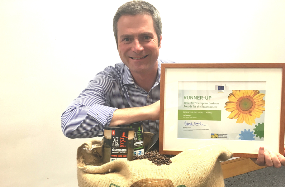 Sheffield-based Cafeology recognised with European award  supporting image