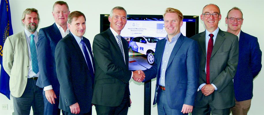 AMRC teams up with global engineering company supporting image