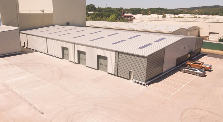 Barnsley industrial unit refurbished supporting image