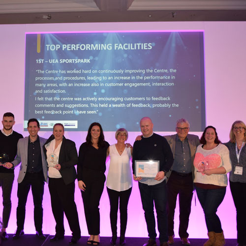 Wisewood Sports Centre wins top award from Sport England's National Benchmarking Service thumbnail
