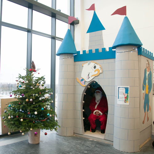Primary school pupils visit Disney inspired Santa's grotto Thumbnail
