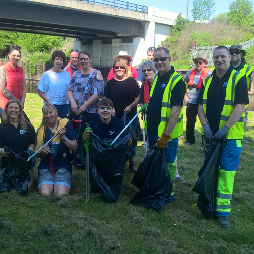 Liberty Speciality Steels and Swinton Lock partner for community clear up thumbnail