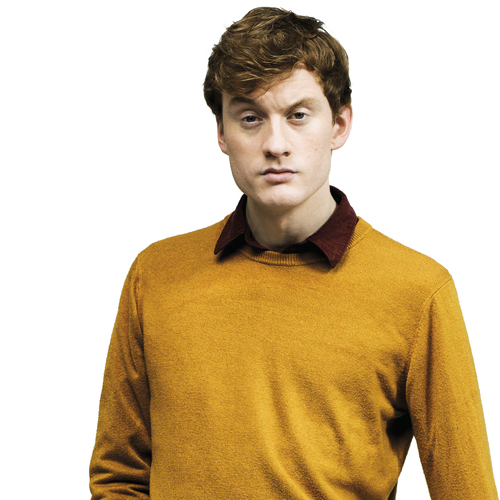 Up-and-coming comic James Acaster in Barnsley thumbnail