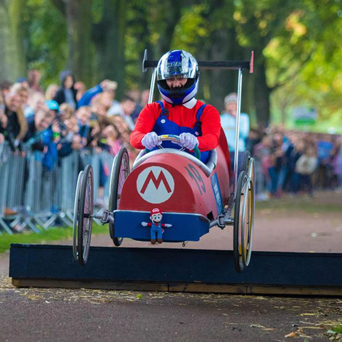 Crystal Peaks to sponsor Bluebell Wood Soapbox Derby thumbnail