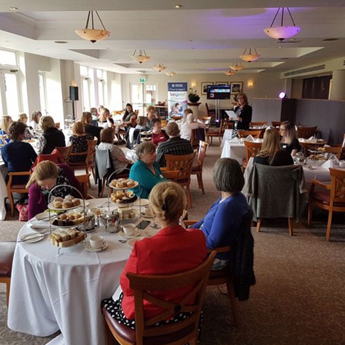 Kenwood Hall Hosts Weston Park Cancer Charity Time for Tea thumbnail
