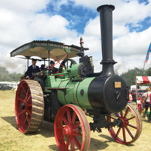 Win a pair of tickets to the Steam and Vintage Rally  thumbnail