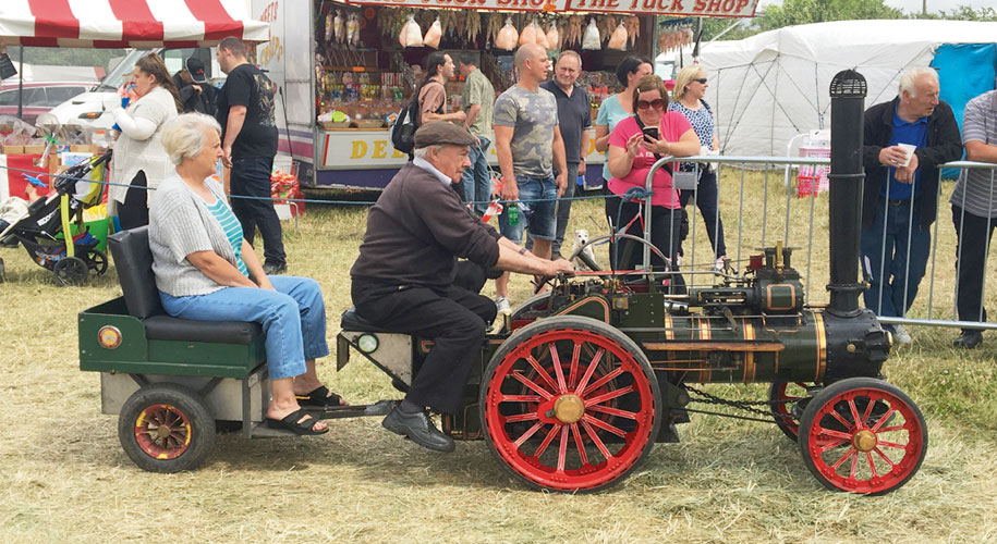 Win a pair of tickets to the Steam and Vintage Rally  supporting image