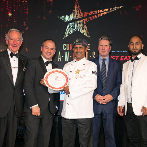 Sharing thumbnail for Mosborough Indian restaurant wins Best Chef 2017