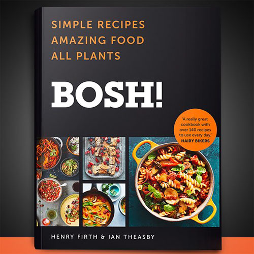Plant power pushes BOSH! book to the top of the charts thumbnail
