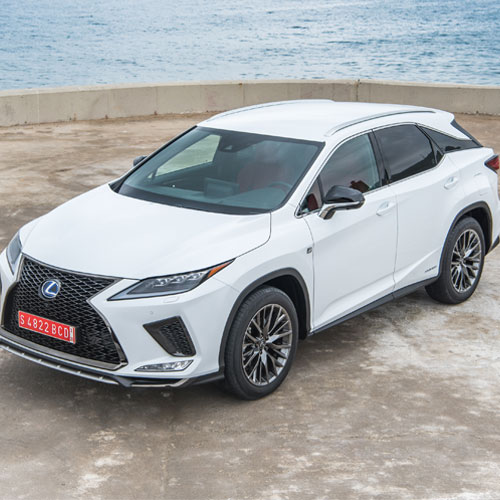 New Lexus RX rolls into Sheffield thumbnail