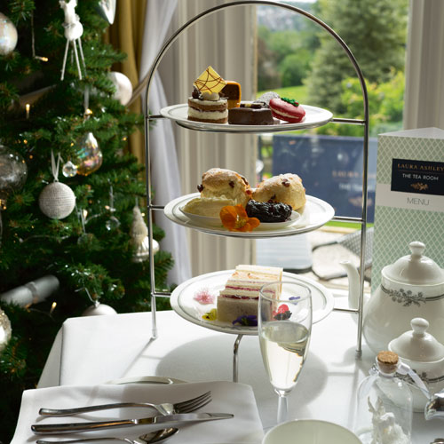 Win a savoury afternoon tea for two at the Laura Ashley Tea Room thumbnail