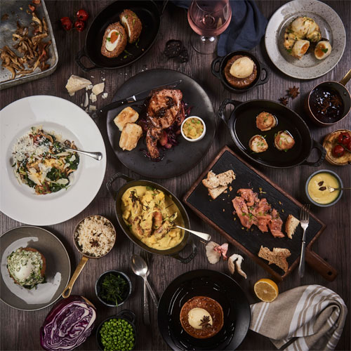 Win lunch for two at Steakhouse Bar & Grill by Marco Pierr White... with a glass of fizz! thumbnail