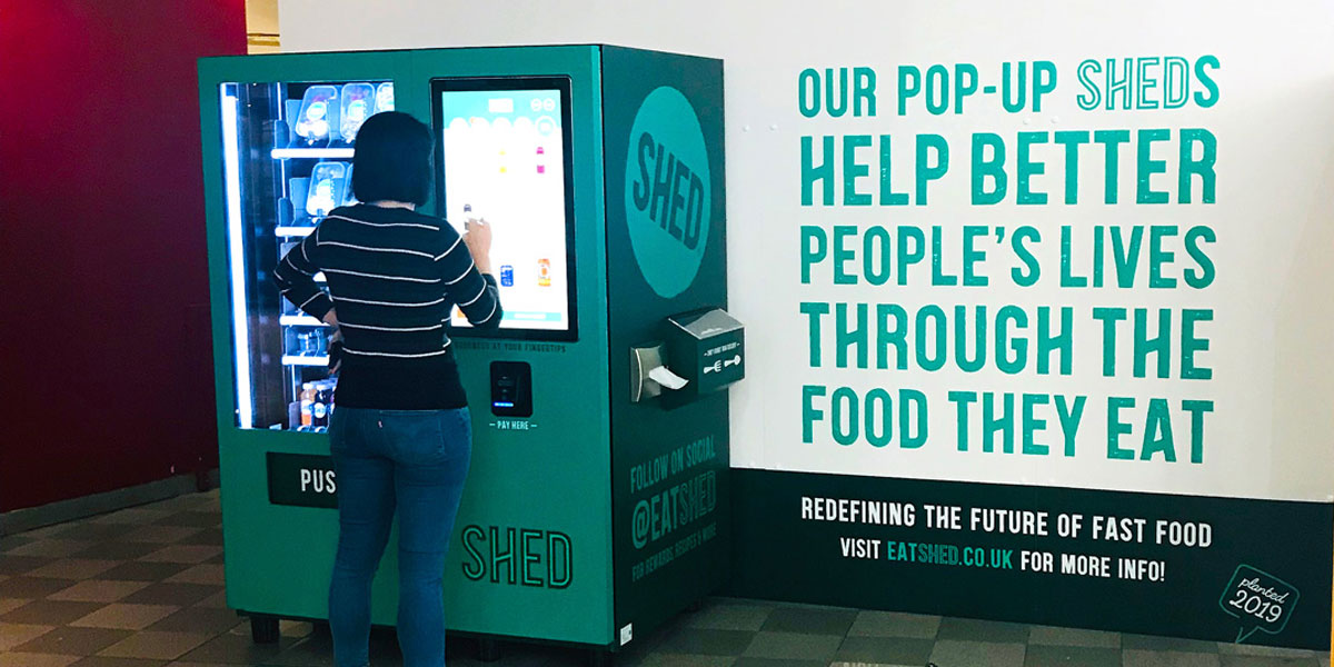 SHED 'redefine the future of fast food' with all-new vending machine concept Thumbnail